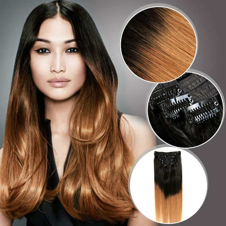 Clip In Virgin Peruvian Human Hair Extensions 140g/pc Straight Ombre Clip Hair Extensions 100% Cabelo Humano Tic Tac Ali Beauty //Price: $US $54.95 & FREE Shipping //   http://humanhairemporium.com/products/clip-in-virgin-peruvian-human-hair-extensions-140gpc-straight-ombre-clip-hair-extensions-100-cabelo-humano-tic-tac-ali-beauty/  #human_hair