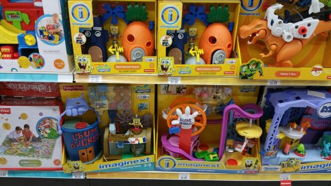 Toys r us spongebob squarepants imaginext toys for Cuisinette toys r us