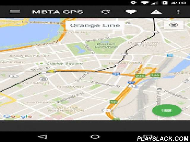MBTA GPS - Track The T  Android App - playslack.com ,  Track the location of any MBTA bus, subway, or commuter rail vehicle in realtime. Use MBTA GPS to determine when the route you need will next be arriving at your stop. See real time travel alerts as well, to see if anything will affect your commute. With the newly introduced Station Mode, you can see all relevant information for any station. Does your commute involve multiple stops? No problem, add as many stations as you'd like. Station…