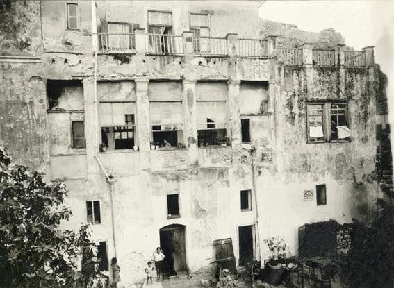 Δημήτριος Γιάγκογλου. Το Παλαιό Πανεπιστήμιο, περίπου 1930. © Νεοελληνική Ιστορική Συλλογή Κωνσταντίνου Τρίπου – Φωτογραφικό Αρχείο Μουσείου Μπενάκη
