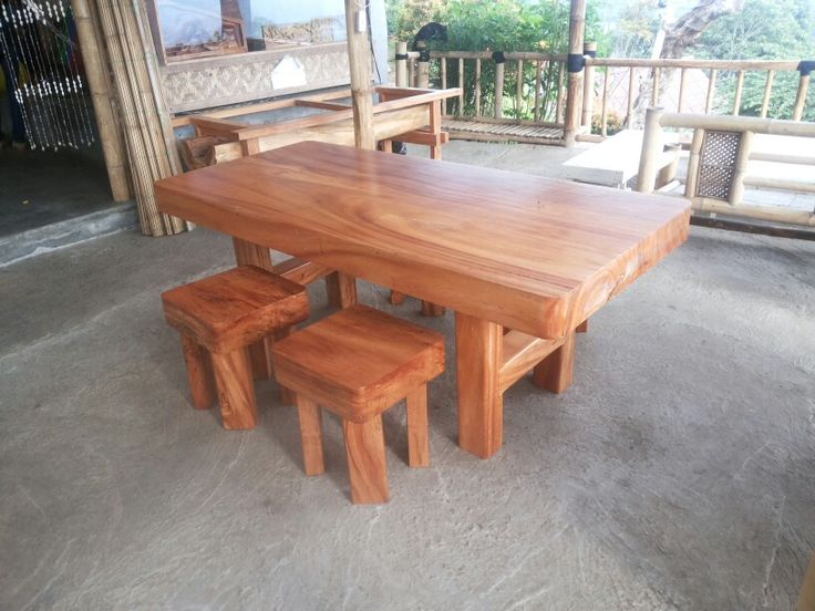 New finished dinning table, hope everyone like it.