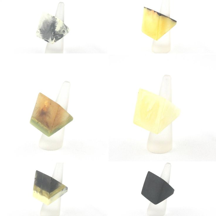 G by Gabrielle Perfect Platform resin rings! All $35 Www.gbygabrielle.com.au