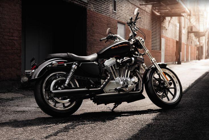 The Fierce Harley-Davidson SuperLow ;) ... WANT!  Hard decision custom white or ALL black?? ^^
