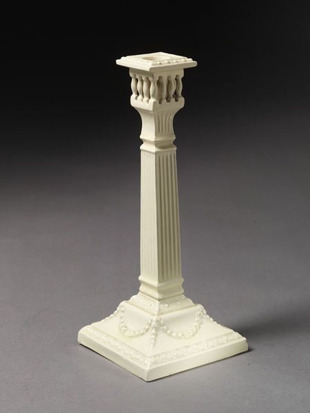 Candlestick | Burmantofts Pottery | V&A Search the Collections