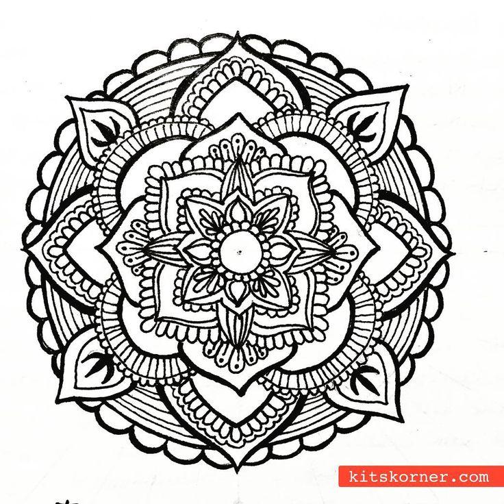 Blumenel Knüpfen 82 besten mandala bilder auf kritzeleien mandala