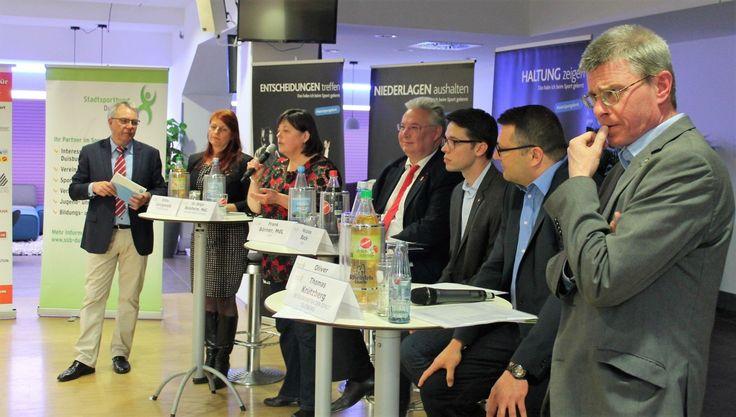 Stadtsportbund Duisburg: 3. Jahrestreffen in der Schauinsland-Reisen-Arena