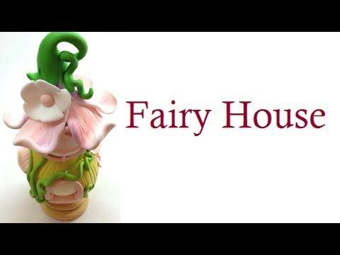 Fairy house/casa de fada- Polymer clay (fimo) tutorial by sandrartes