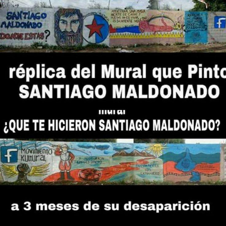 Murales en Florencio Varela, que según nos dicen fueron tapados por el Gobierno Provincial.