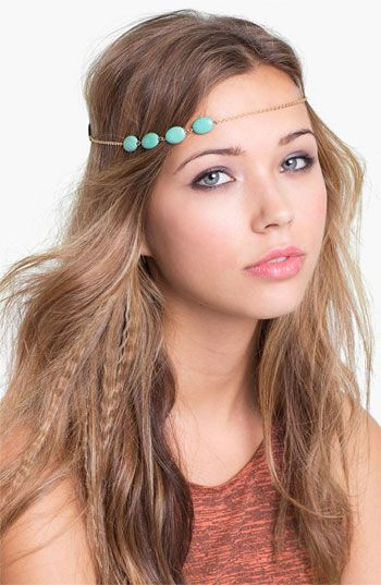 Carole Stone & Chain Headband available at #Nordstrom