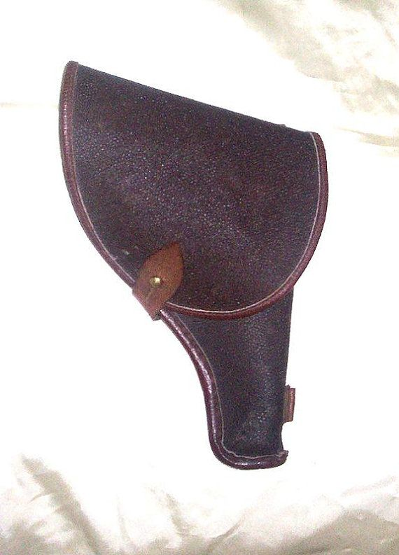 Russian WWII Tokarev Pistol Holster by Vintageroom24h on Etsy