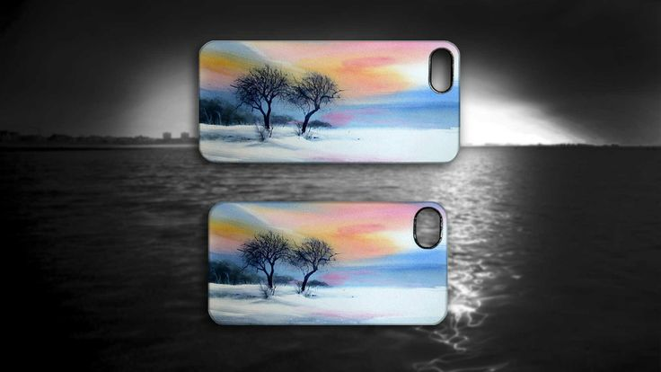 'Turkish Snow' by Yesim Gozukara. #Snow #Turkey #Winter #Tree #iPhone #Case #Art #Artmobilis