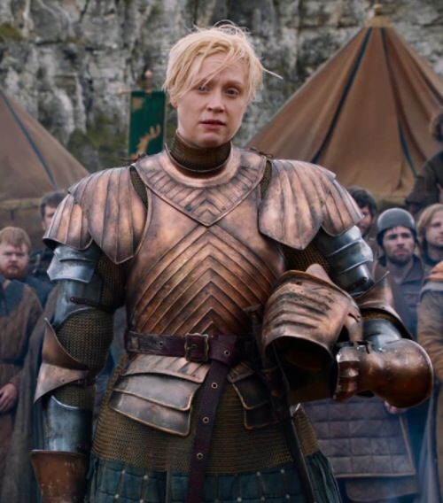 brienne actress how tall