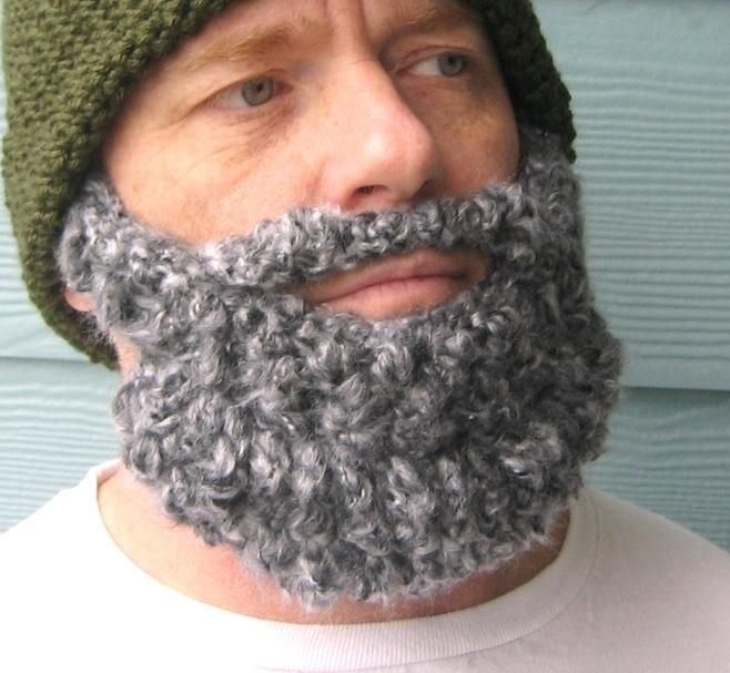 Beanie Hat With Beard Crochet Pattern Free : free crochet beardo pattern Stuff I wish I had time to ...