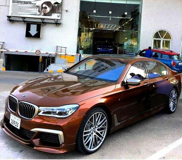 BMW G12 7 series bronze