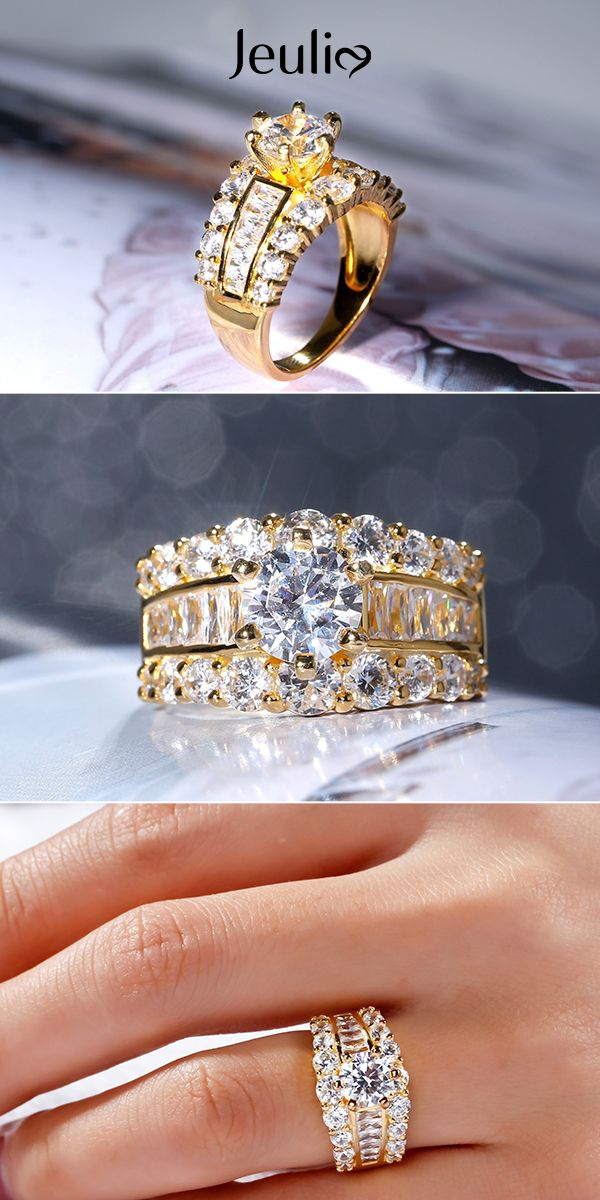 Trending Unique Punk Cage Armor Knuckle Crystal Rhinestone Cross Ring Plated