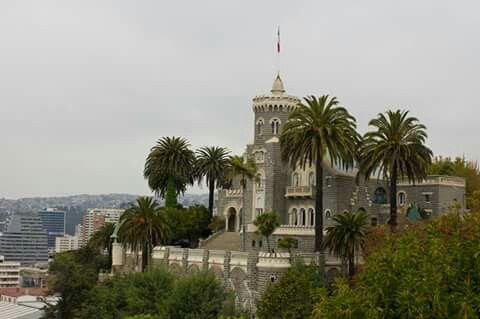 palacio brunet. cerro castillo. viña del mar