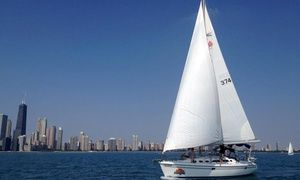 Groupon - First-Class Sailing for Two or Six from Chicago Sailboat Charters (Up to 50% Off)  in Lakeview. Groupon deal price: $99