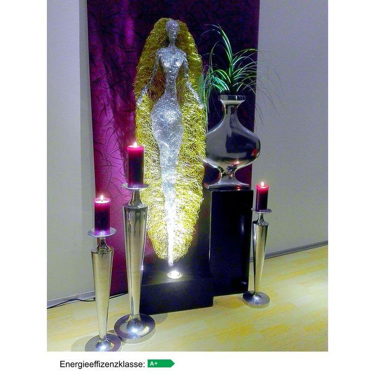 Design Skulptur - Gloria - beleuchtet LED A+.   Höhe ca. 135 cm   Energieeffizienzklasse A+ , Energieverbrauch 7 kWh/1000h