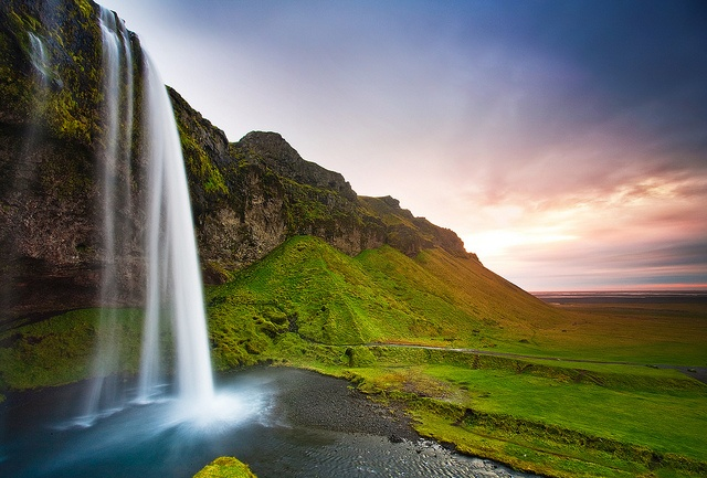 Seljalandsfoss waterfall, IcelandIceland, Amazing Photography, Nature, Seljalandsfoss Waterfall, Rollers Coasters, Art, Beautiful, Roller Coasters, Medium
