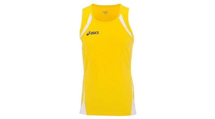 Asics Usain Singlet ujjatlan felső férfi sárga T237Z6.QV01
