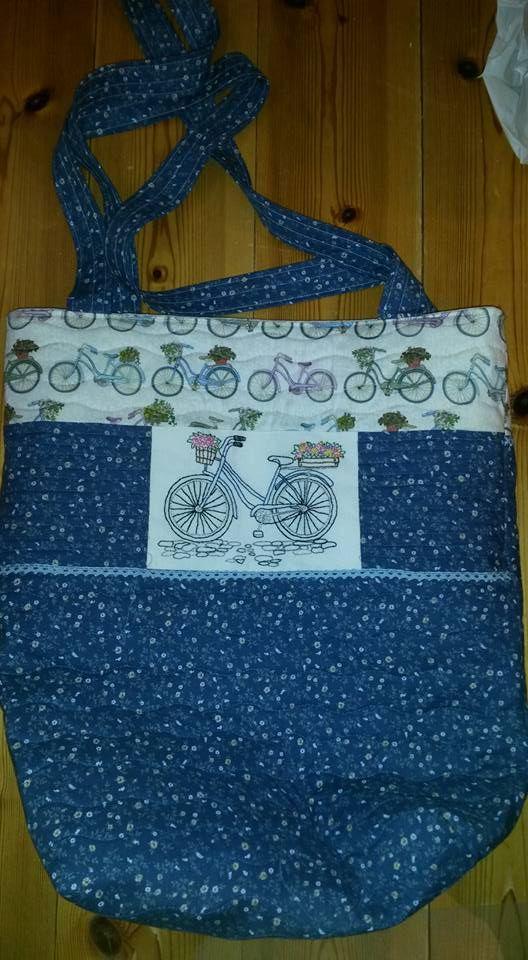 Made myself a new bicycle bag