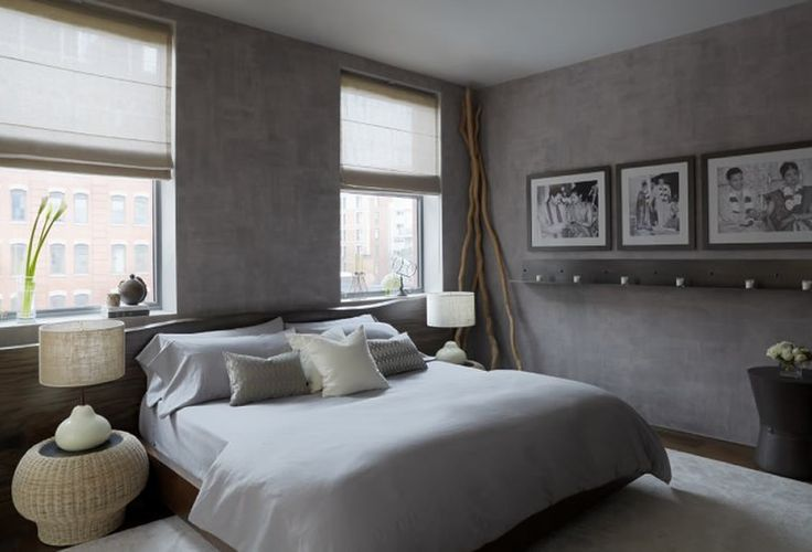 modern grey bedroom by purvipadia   #nunapinparty #modernfamilyhome