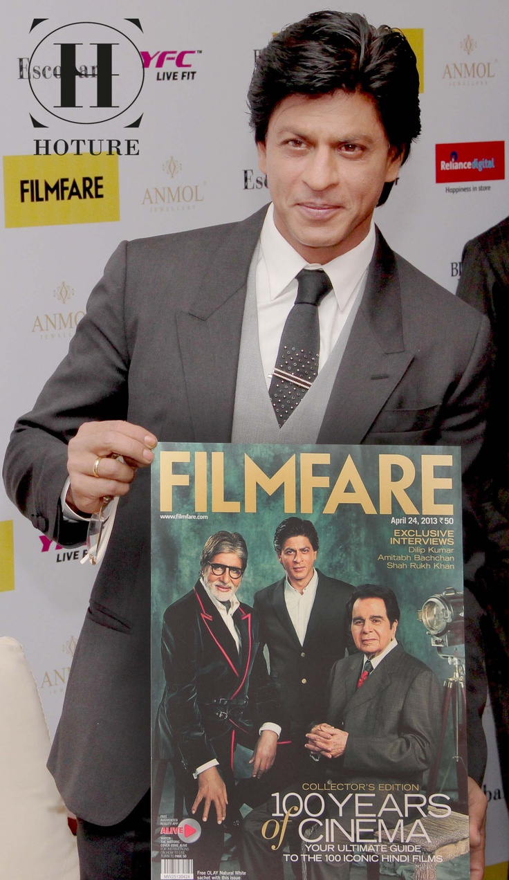 It is the King Khan who launched the cover of the Filmfare magazine. The celebration marked 100 years of Indian Cinema. SeeStoryOfTheBadshah: www.hoture.com