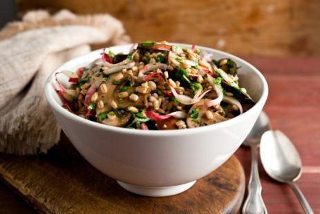 Ароматный коричневый рис с овощами :: JV.RU