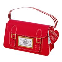SO CUTE! Every tot needs to tote this satchel filled with Valentine's!
