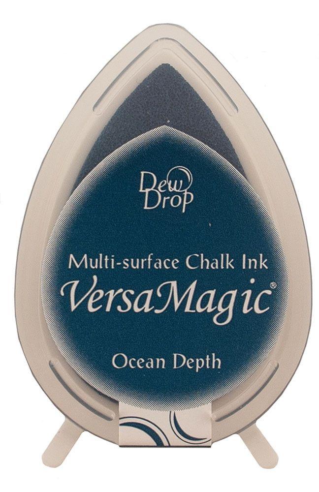 Tsukineko VersaMagic Chalk Dew Drop Ink Pad - Ocean Depth