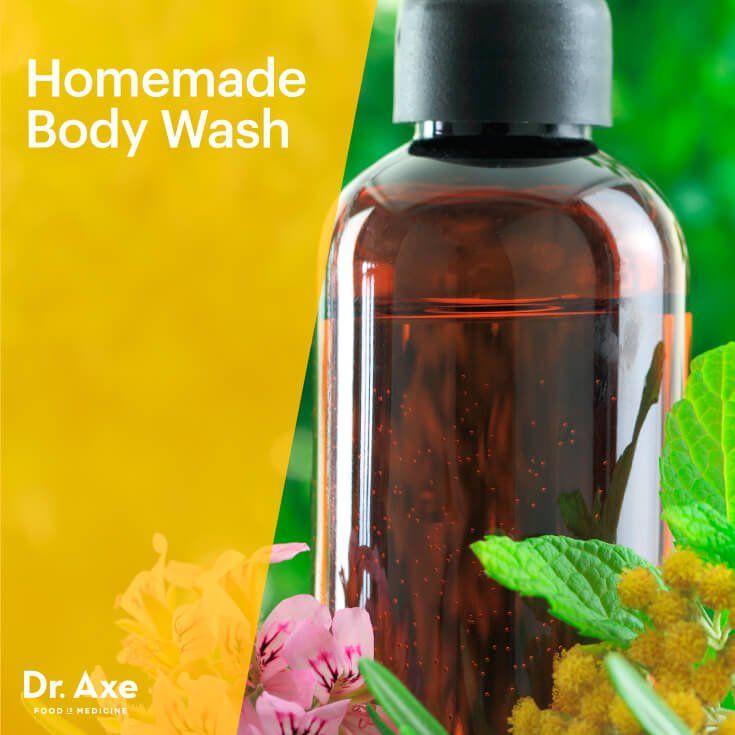 Homemade Body Wash - Dr.Axe