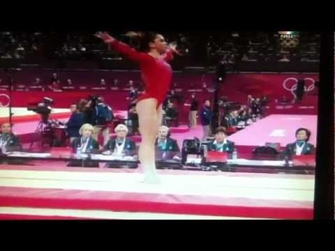 The McKayla Maroney PERFECT Vault | LIVE 7-31-12