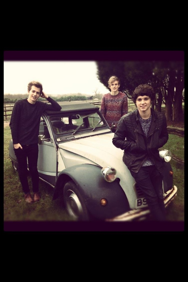 The Vamps- soooo glad I found them on YouTube :D