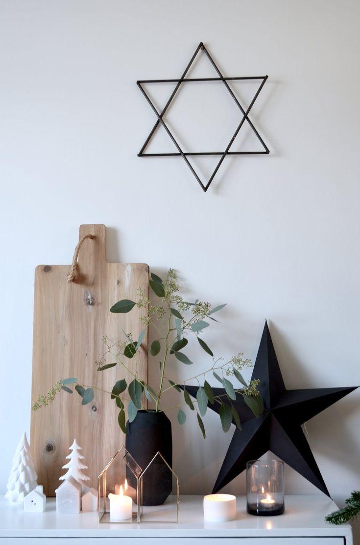 van het kastje naar de muur. - stoere ijzeren ster van Stoer Metaal // photography and styling by Milou Nieuwenhuis