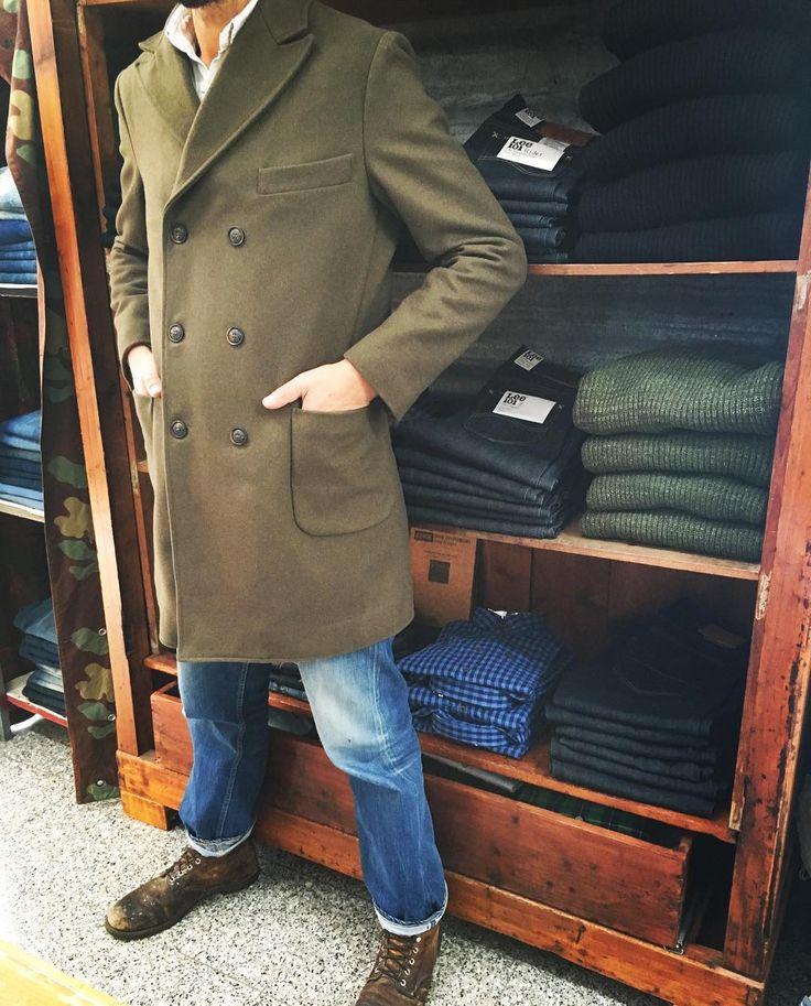 #picoftheday #alori1961 #militarymood #militarycoat #romitomanifatture #madeinitaly #jeans #gildedage #shoes #redwing #madeinusa #instapic #instalike #instagood #shirt #aspesi #thedifferenceisinthedetails #vintagestyle #vintageclothing #aloriit  #availablenow #www.alori.it #instapic #instashop #contactus #info@alori.it #