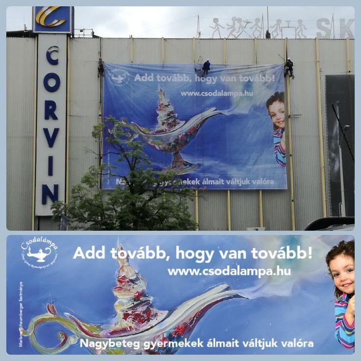 Wunderlampe  Csodalampa ist eine Stiftung in Ungarn.Das Ziel der Stiftung ist es, jedem Kind zwischen 3 und 18 Jahren, das an einer lebensbedrohlichen Krankheit leidet, einen Wunsch zu erfül…
