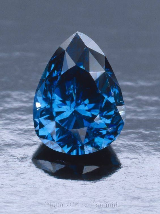 This gemstone could easily be mistaken for a blue sapphire but in fact it is one