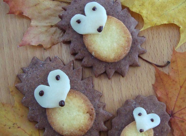 Rezept-Tipp zum Wochenende: Herbstliche Igel-Kekse