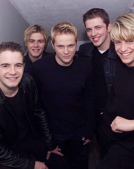 Westlife in their younger days!