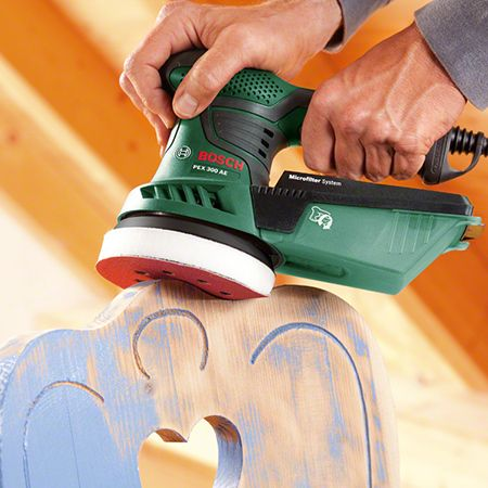 Sanding is an essential part of the preparation required for virtually every type of surface treatment. Find out which is the right Bosch sander for your application, in combination with selecting the correct abrasive.