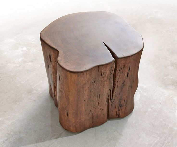 Popular DELIFE Hocker Live Edge Akazie Braun x cm
