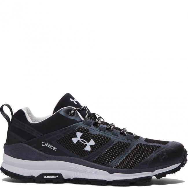 1268851-002 Under Armour Men's Verge Low GTX Hiking Shoes - Black www.bootbay.com