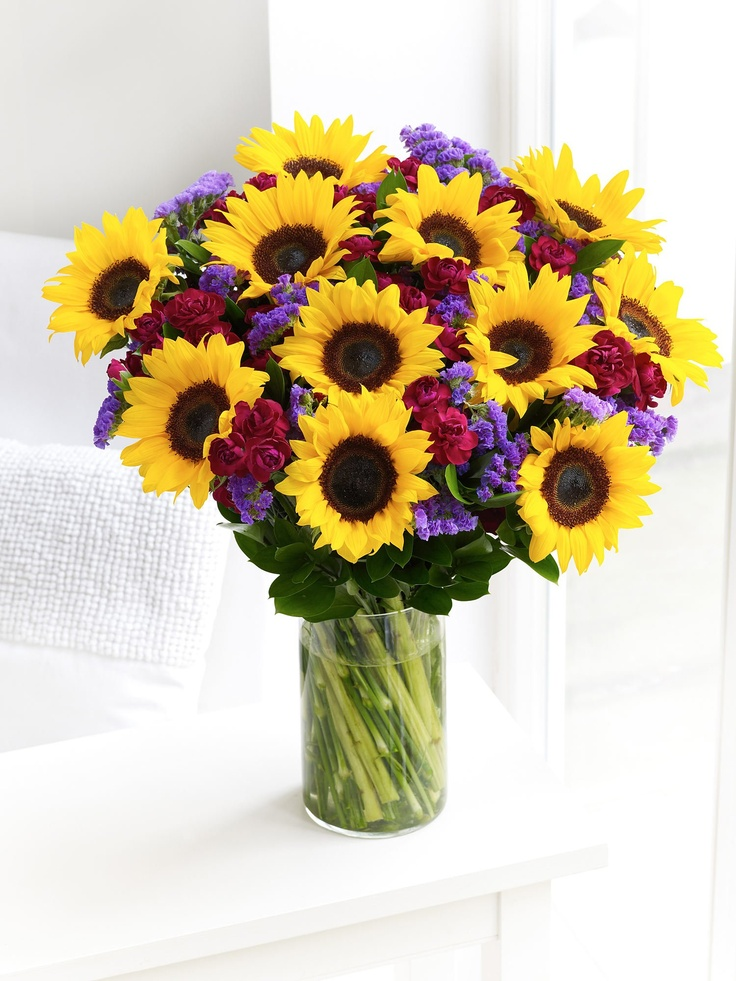 Best ideas about sunflower arrangements on pinterest