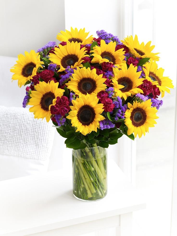 Ideas about sunflower arrangements on pinterest