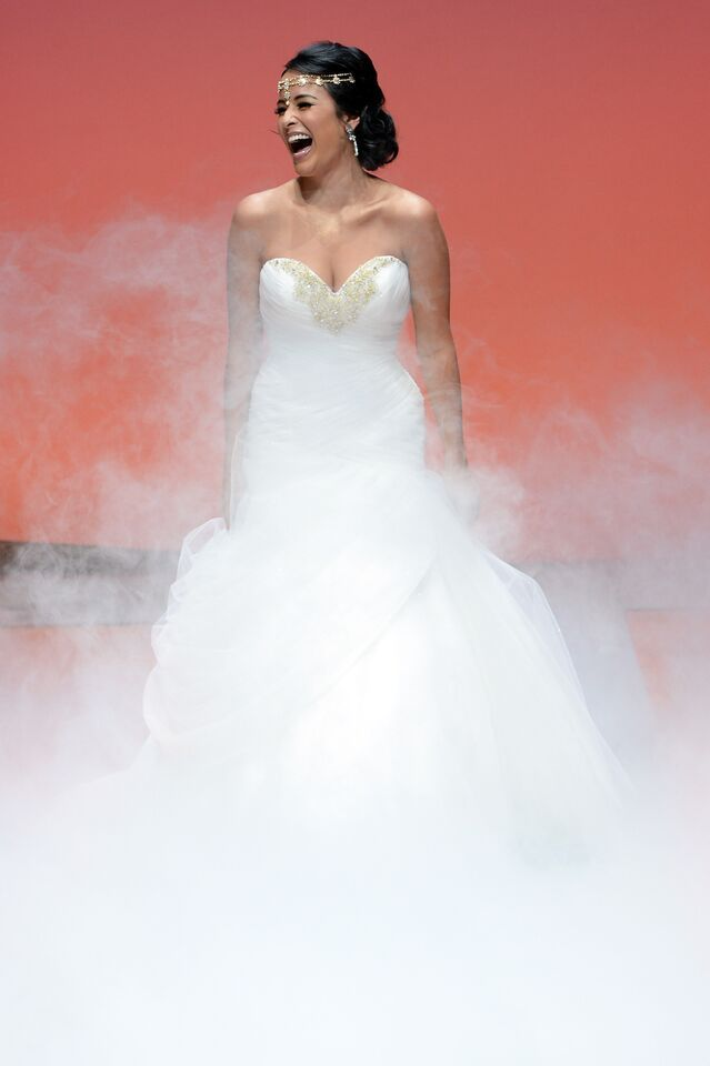 44 best Disney images on Pinterest | Disney wedding dresses, Disney ...