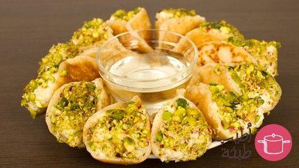 طريقة عمل قطايف بالقشدة - Katayef kashta recipe