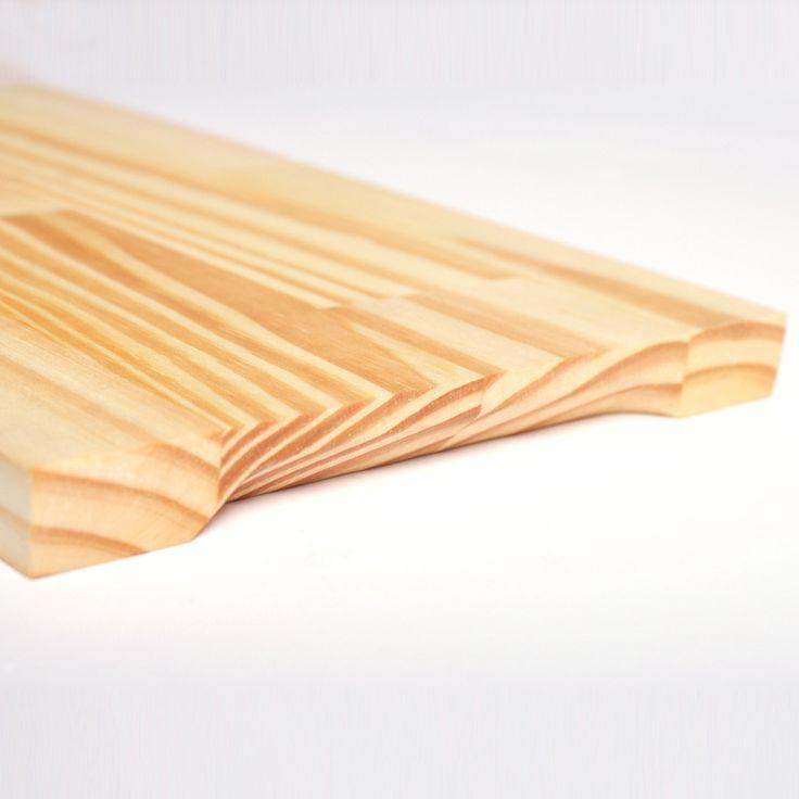 Eric Ennser - Acessórios: Tábua de Corte  #marcenaria #designbrasileiro #pinus #woodworking #cuttingboard #houseware
