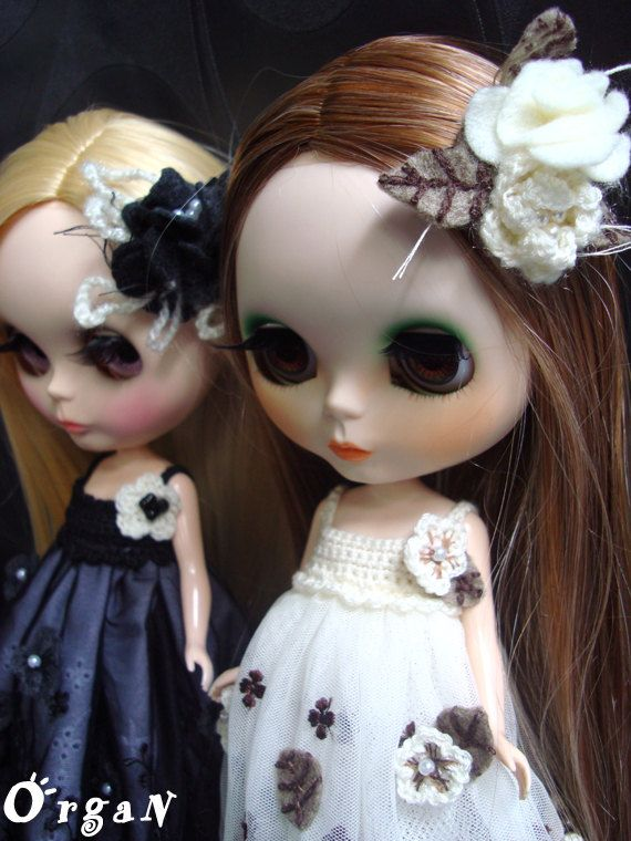 OOAKLuxE RuffleD RomancE BLOSSOM Off White Dress Set by organ111, $36.00