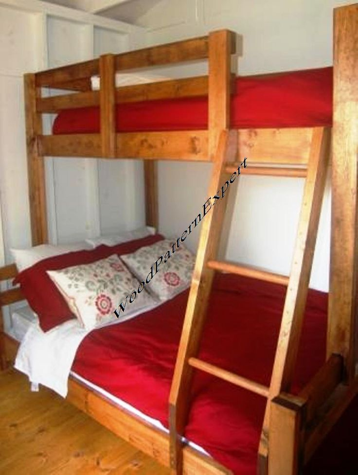 70 Best Bunk Bed Plans Images On Pinterest Bunk Beds Bunk Bed Plans And 3 4 Beds