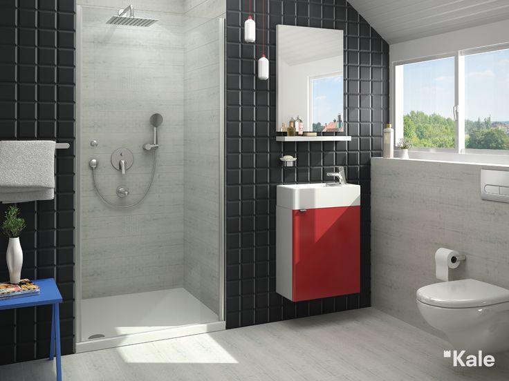 İstenilen boya ayarlanabilir el duşu takımları.  #kale #banyo #fonksiyonel #tasarım #kalestyle